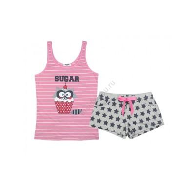 Женская пижама INDEFINI 615406