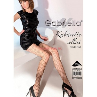 Колготки Gab 153-231 Kabarette Collant