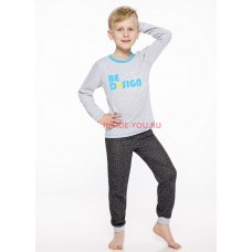 Пижама детская CORNETTE 2344/2345 19/20 CZAREK Серый