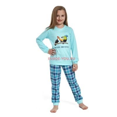 Детская пижама CORNETTE  592/594 БИРЮЗОВЫЙ