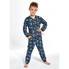 Детская пижама CORNETTE 185/186 CUBES