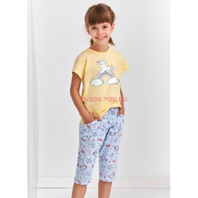 Детская пижама Taro 2213/2214 S20 BEKI yellow