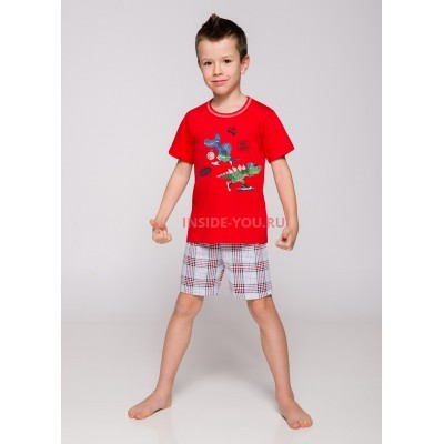 Пижама детская Taro 943/944 19 Damian Красный