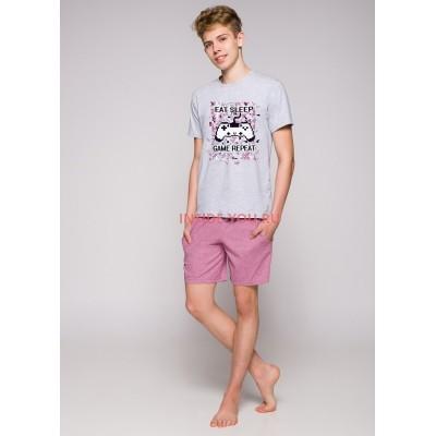 Пижама подростковая Taro 1109 19 Karol Серый