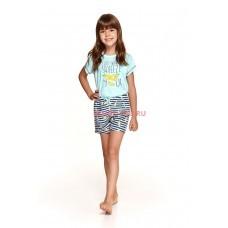Детская пижама Taro 2200/2201 SS21 HANIA Бирюзовый