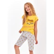 Детская пижама Taro 2202/2203 S20 AMELIA yellow