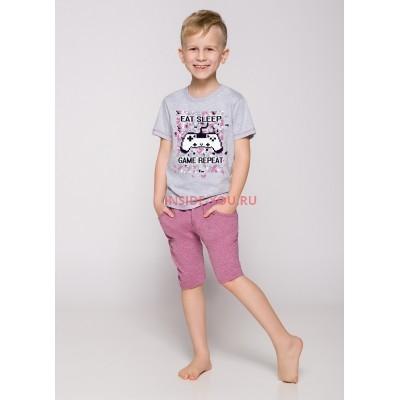 Пижама детская Taro 22215/2216 19 Alan Серый