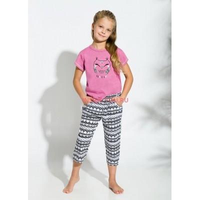 Пижама детская Taro 2213/2214 BEKI 18 Розовый + черный