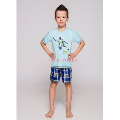 Пижама детская Taro 392/393 19 Franek Голубой