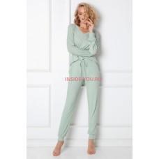 Женская пижама со штанами ARUELLE TINA FOREST GREEN