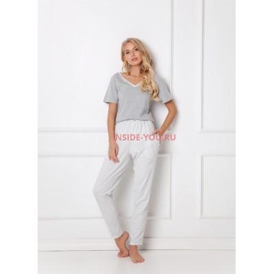 Женская пижама со штанами ARUELLE GWEN GREY