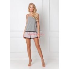 Женская пижама с шортами ARUELLE ADELIDE DARK GREY