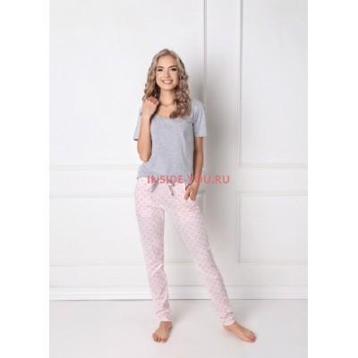Женская пижама со штанами ARUELLE Q GREY
