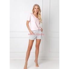 Женская пижама с шортами ARUELLE DOROTHY PINK