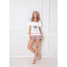 Женская пижама с шортами ARUELLE WOOF