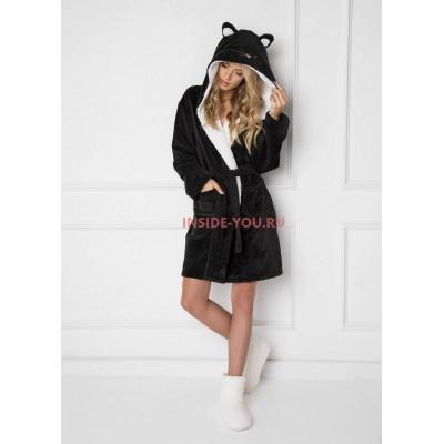 Женский халат ARUELLE CATTIE BLACK