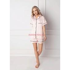 Женская пижама с шортами ARUELLE CLASSY PINK