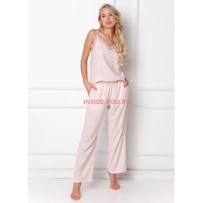 Женская пижама со штанами ARUELLE DANNY PINK