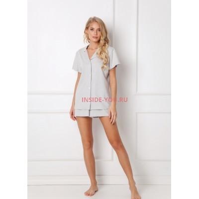 Женская пижама с шортами ARUELLE TASHA GREY