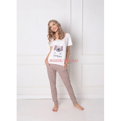 Женская пижама со штанами ARUELLE WOOF