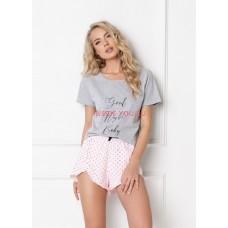 Женская пижама с шортами ARUELLE GRACE GREY