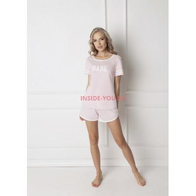 Пижама с шортами ARUELLE BABE PINK