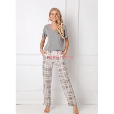 Женская пижама со штанами ARUELLE LONETTE BEIGE