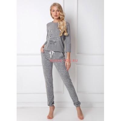 Женская пижама со штанами ARUELLE POPPY GREY