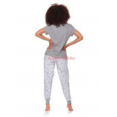 Женская пижама со штанами DOCTOR NAP 4120 PM Серый