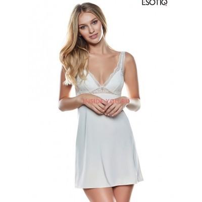 Женская сорочка ESOTIQ 37045 LISET Шампань