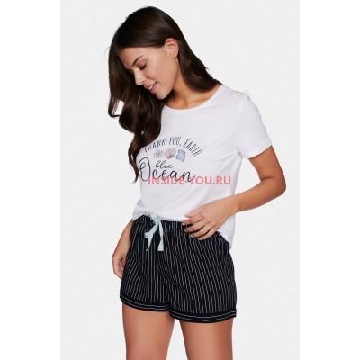 Женская пижама с шортами ESOTIQ 38640 ELECTRA