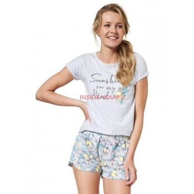 Женская пижама с шортами ESOTIQ 37739 BEFFA