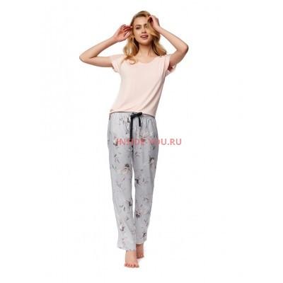 Женская пижама со штанами ESOTIQ 37375 NATURE2