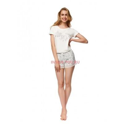 Женская пижама с шортами ESOTIQ 37372 NOTES2