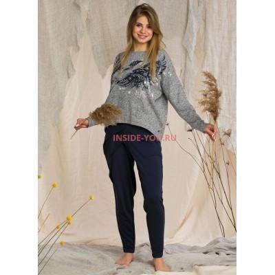 Женская пижама со штанами KEY LHS 211 20/21