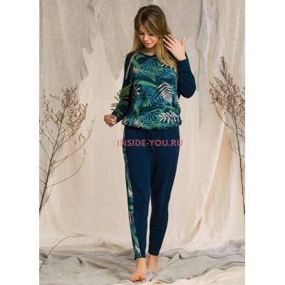 Женская пижама со штанами KEY LHS 901 20/21