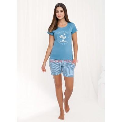 Женская пижама с шортами LUNA 472