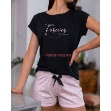 Женская пижама с шортами SENSIS NOVIA