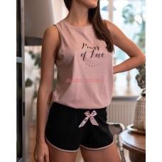 Женская пижама с шортами SENSIS CARLA
