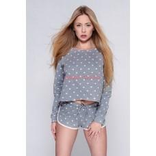 Женская пижама с шортами SENSIS KOMPLET PILAR