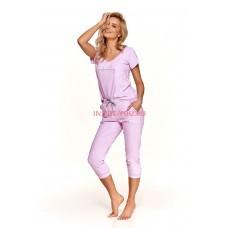 Женская пижама со штанами Taro 2503 SS21 KAMILA Лиловый