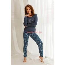 Женская пижама со штанами Taro 2563 21/22 GAJA Джинс
