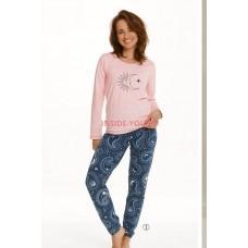 Женская пижама со штанами Taro 2563 21/22 GAJA Розовый