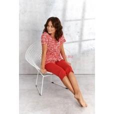 Женская пижама со штанами Taro 908/924 SS21 WERA Красный