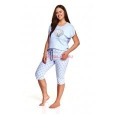 Женская пижама со штанами Taro 2371/2377 SS21 MONA Голубой