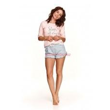 Пижама женская Taro 2488 SS21 MALWA Персик