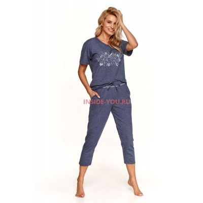 Женская пижама со штанами Taro 2164 SS21 ALEXA