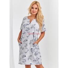 Женская сорочка Taro 2368/2378 S20 ROSA grey