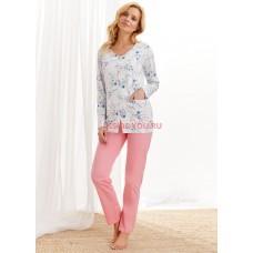 Женская пижама со штанами Taro 2122/2126 AW20/21 FABIA