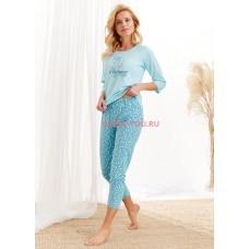 Женская пижама со штанами Taro 2443/2467 AW20/21 ROZA